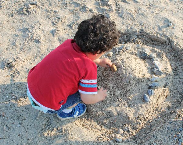 sandcastle at littlehampton