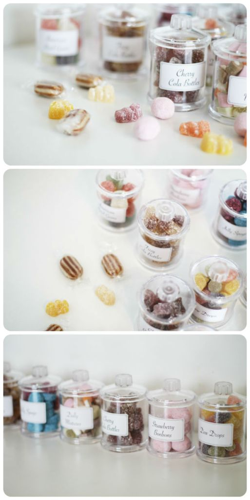 Traditional sweet shop sweets from Serenata Hampers - These would be so cute for a party!
