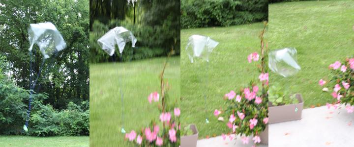 kids parachute summer craft