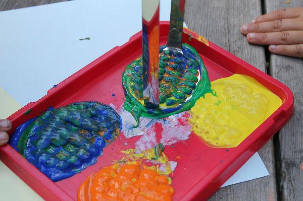 potato masher bubble paint