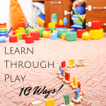 10 ways to learn through play this summer
