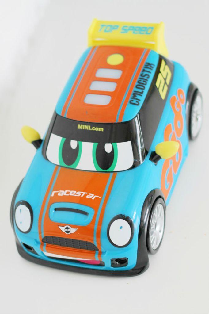 Go mini power boost racer from Golden Bear toys