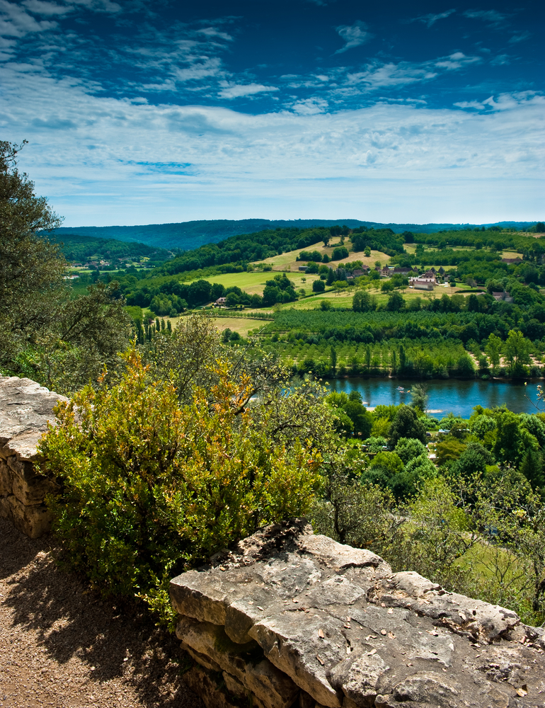 Dordogne Valley France - Great place for family cycling or mountain biking