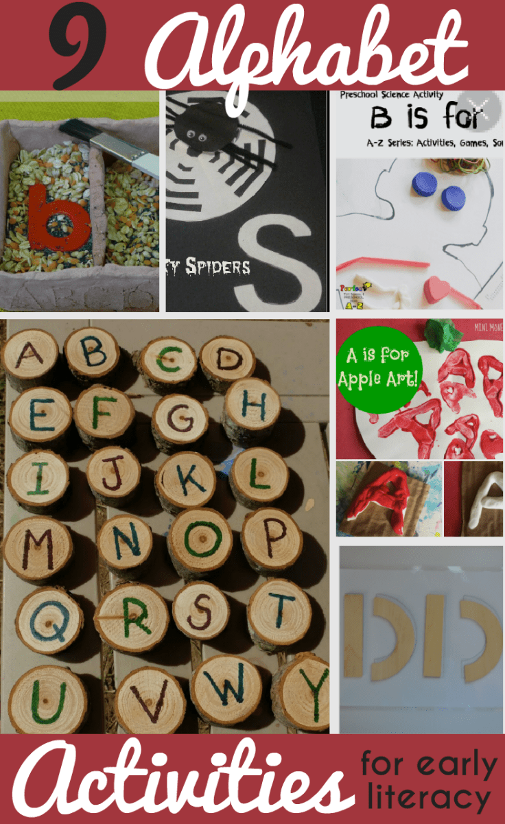 Letter and alphabet activities for kids, whether working on a letter of the week or recapping letter recognition as a whole