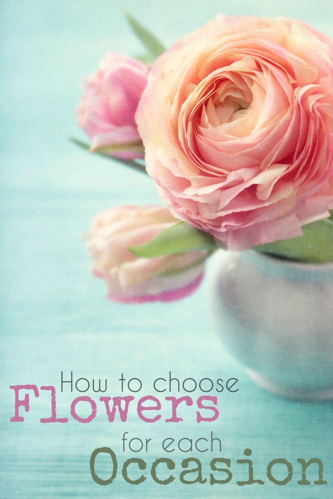 How to choose the appropriate flowers for each occasion, including list of flowers by month and flowers for each anniversary