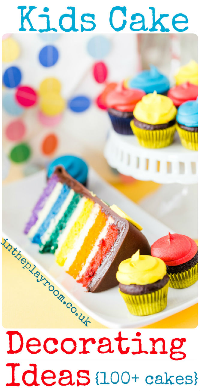 Kids Cake Decorating Ideas - In The Playroom