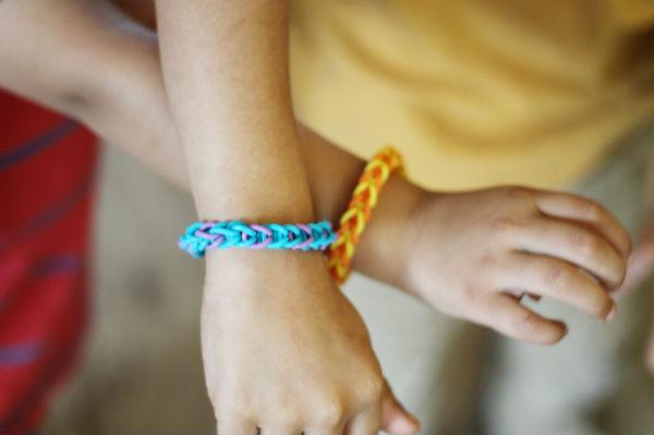 loom bands bracelets