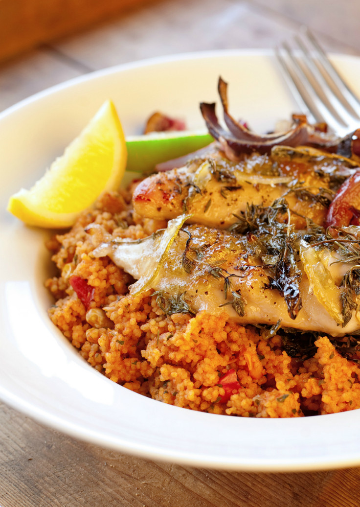 Lemon and Lime citrus spiked chicken recipe serve with cous cous. Easy dinner recipe