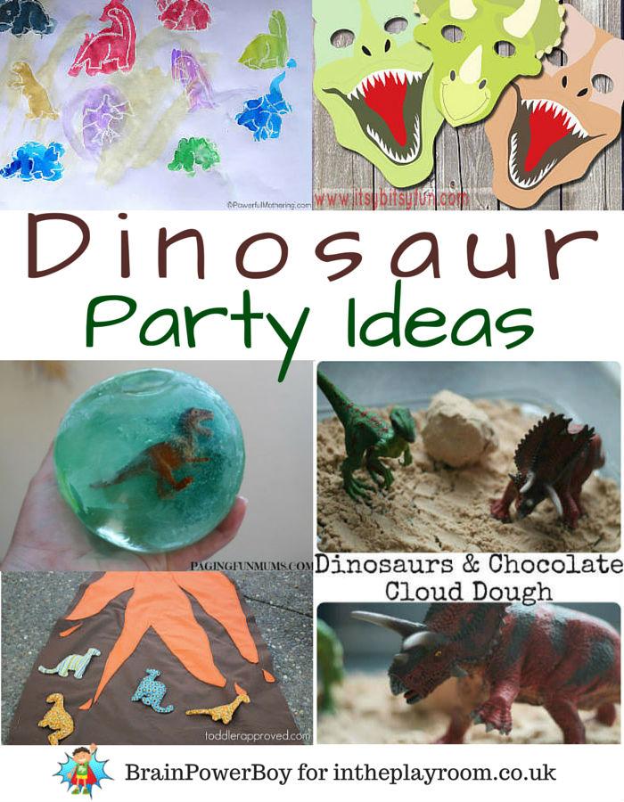 Dinosaur Birthday Party Ideas In The Playroom