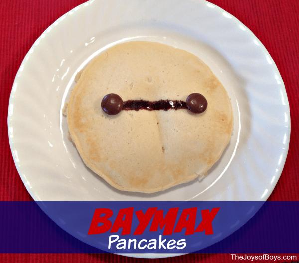 Baymax Pancakes
