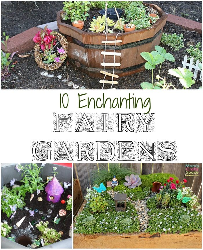 make a fairy garden