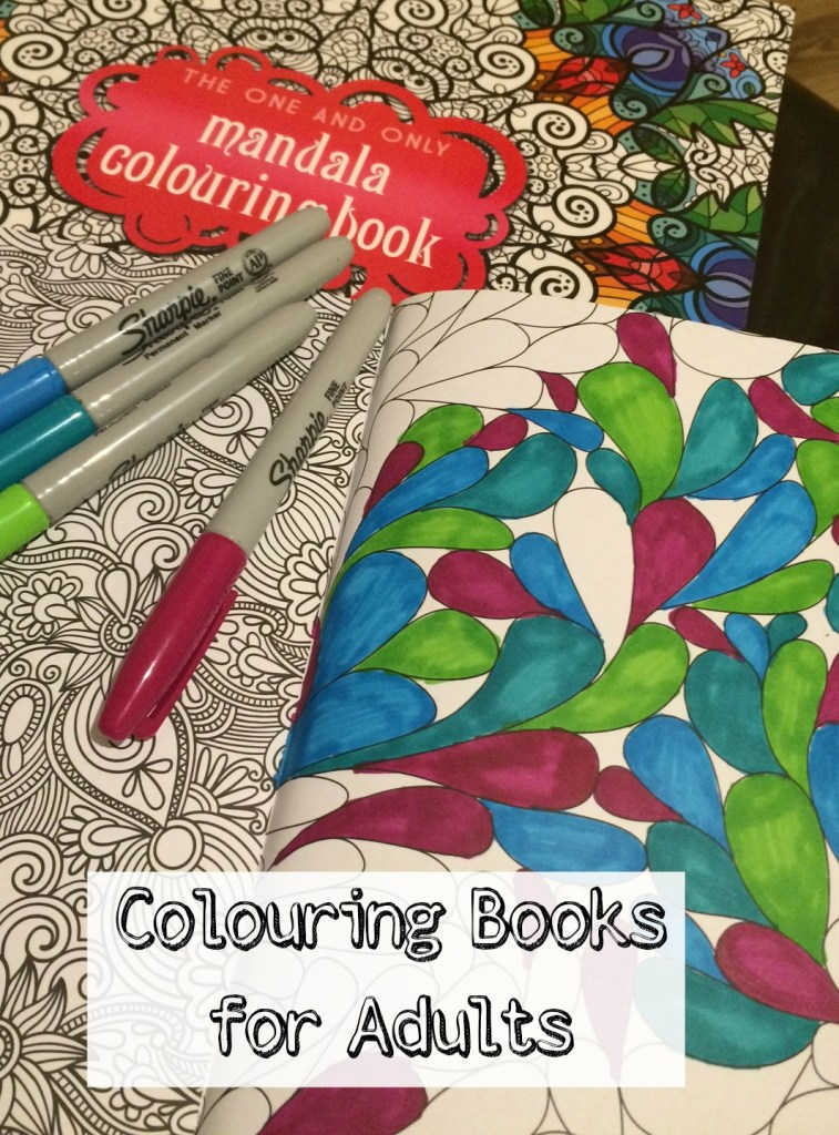 Colouring books for adults, the one and only colouring book for adults series