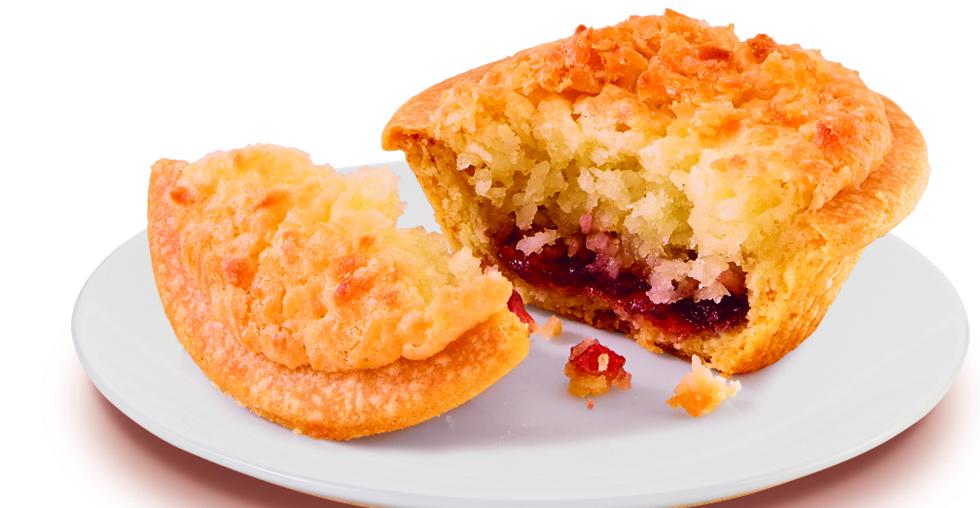 Almond Coconut Raspberry Cake