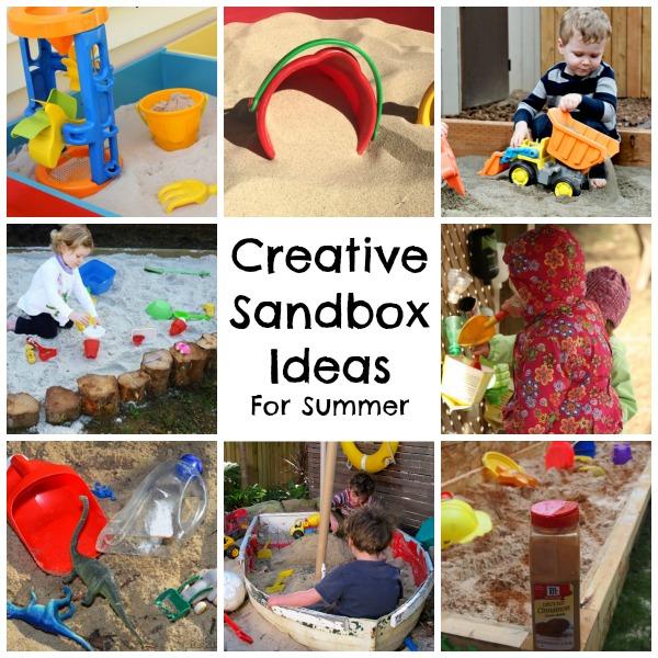 Creative summer sandbox ideas and diys