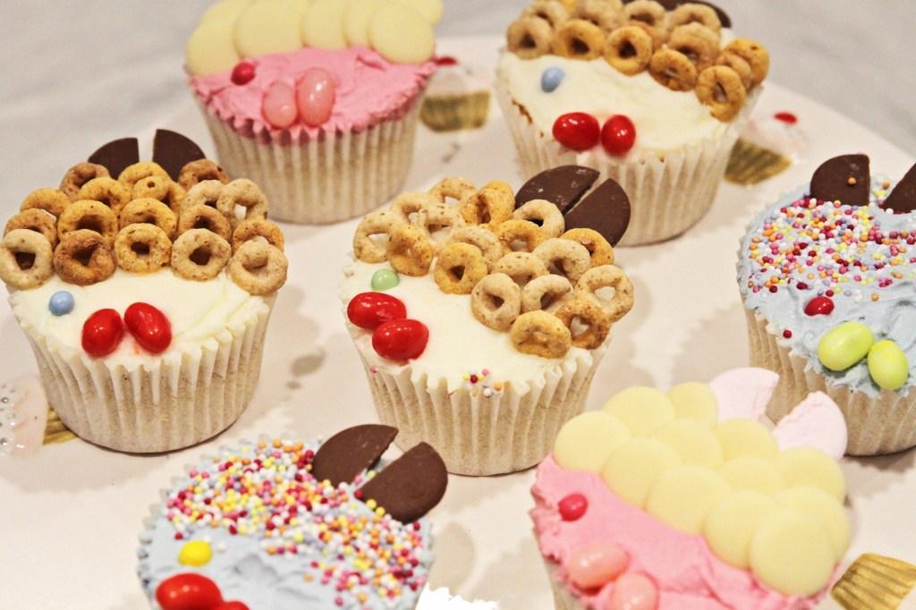 Annabel's Goldfish Cupcakes