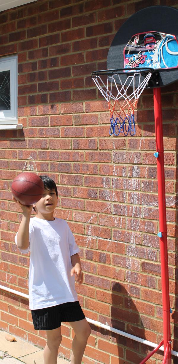 sports day basket ball challenge