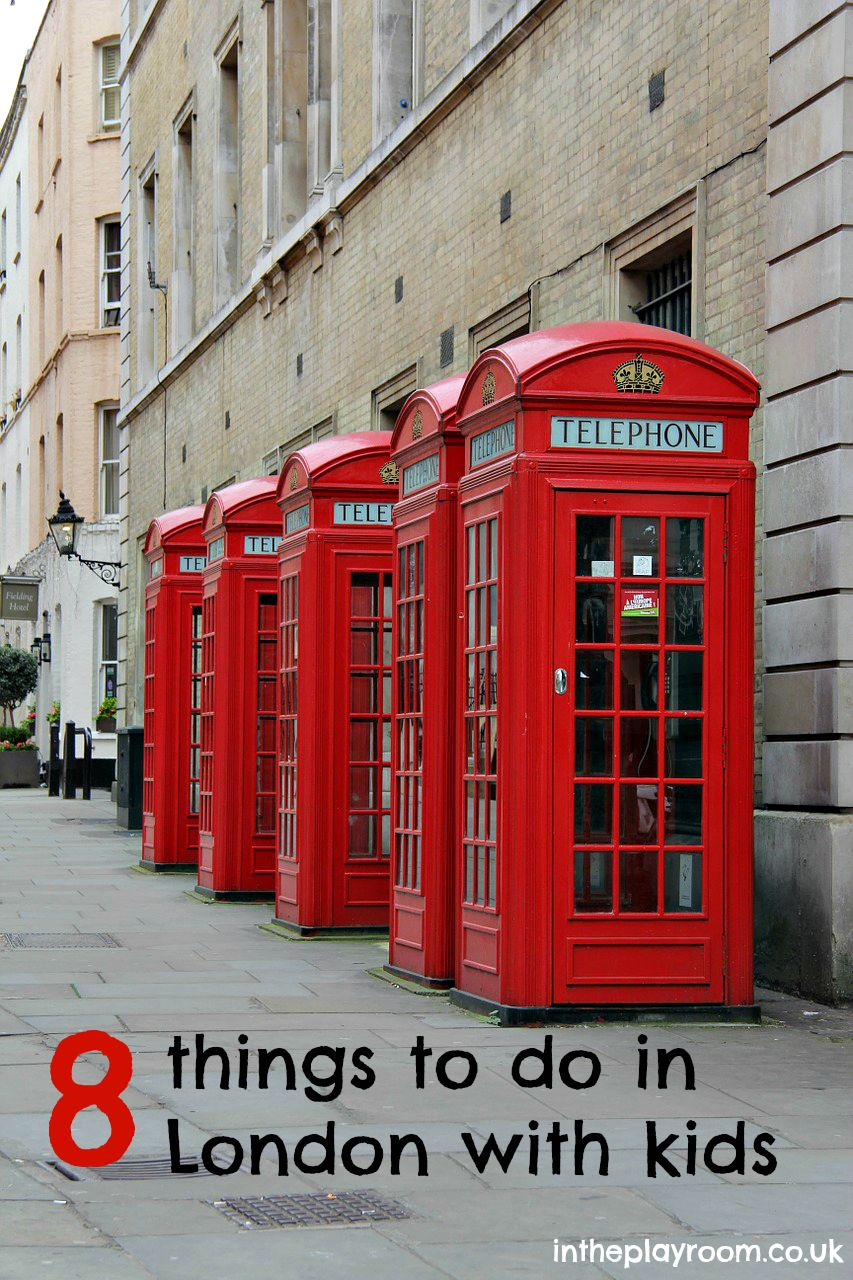 8 things to do in London with kids. Make your summer less boring!