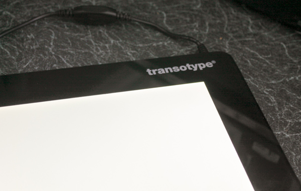 Transotype drawing light table