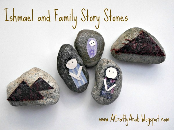 Ishmael and Family Story Stones