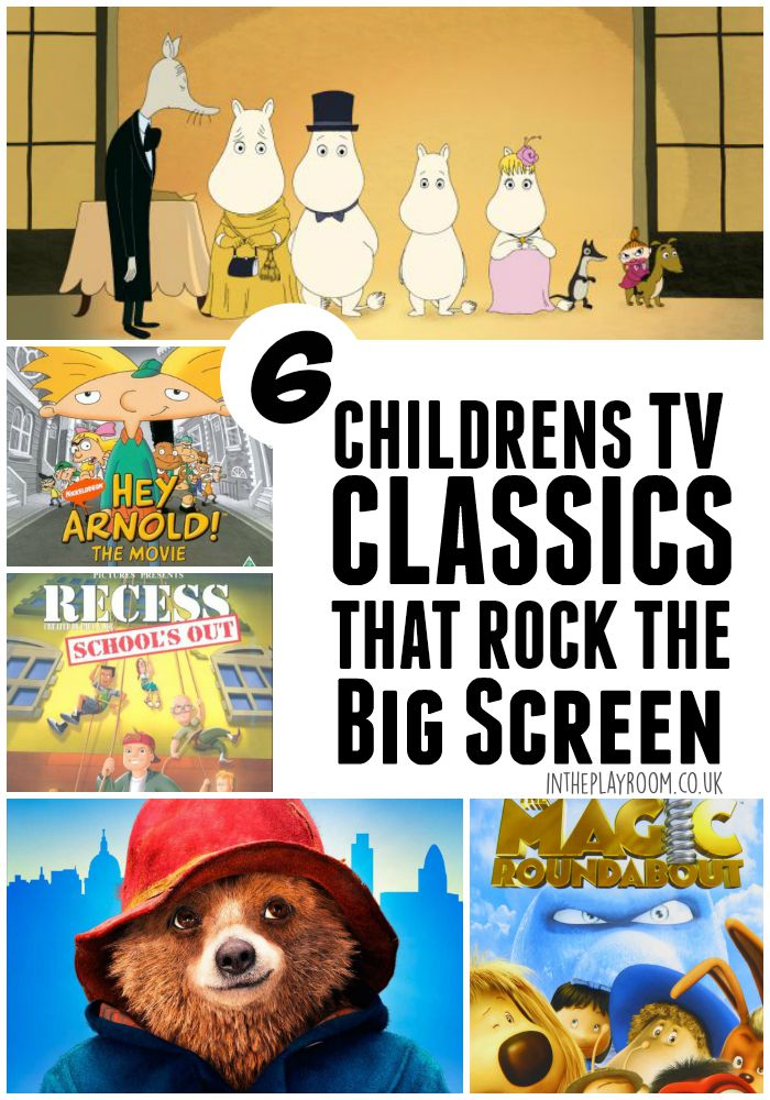 6 children's TV classics that rock the big screen. These movie adaptations will bring back childhood memories