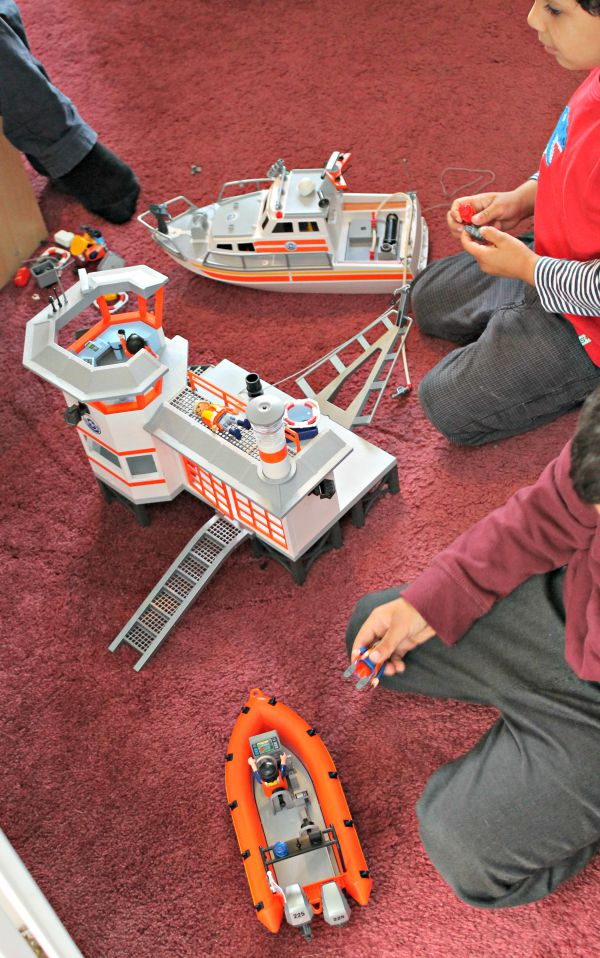 Playmobil City Action Coast Guard Station with Lighthouse