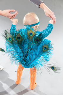 Baby Peacock Costume from Creatively Christy