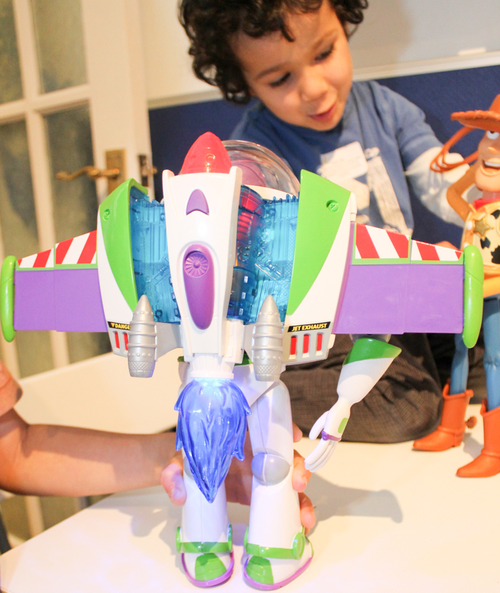 Disney Toy Story Rocket Blast Buzz and Bull Ridin' Woody