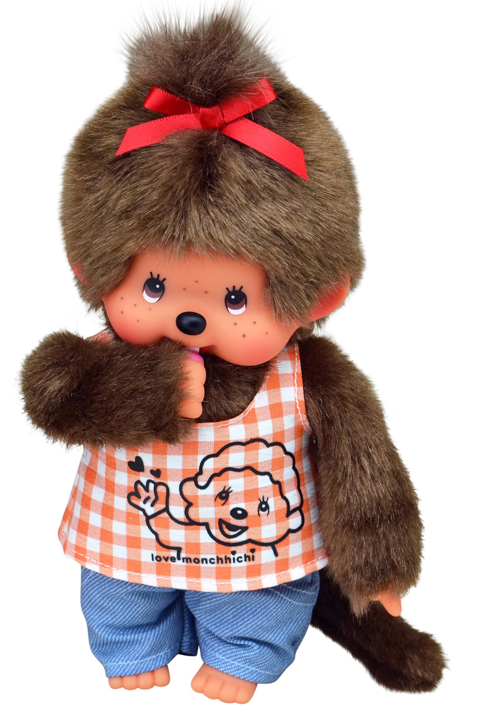 Orange Shirt Girl Monchhichi