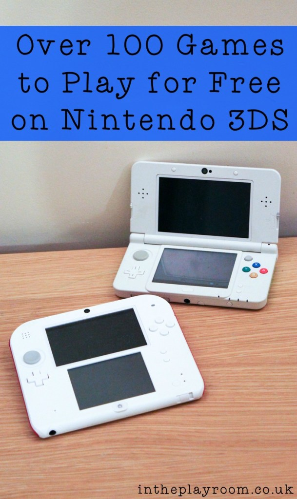 How to play games free on Nintendo 3DS, with over 100 to choose from!