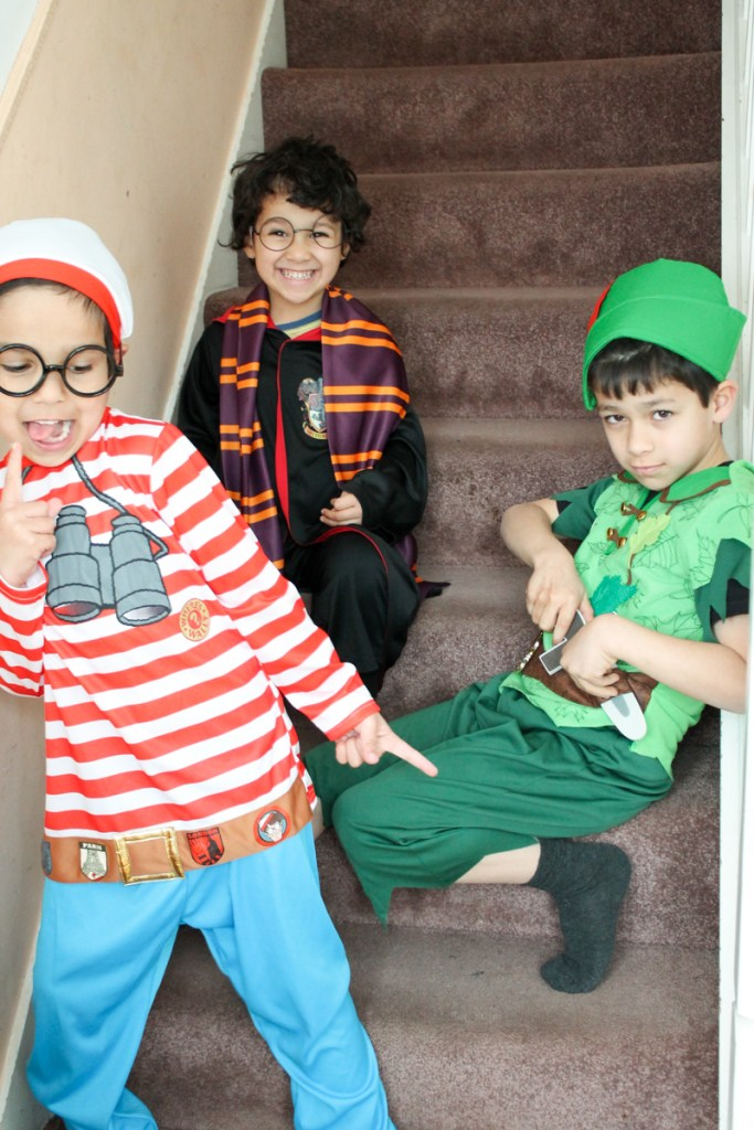 world book day book character costumes from Asda