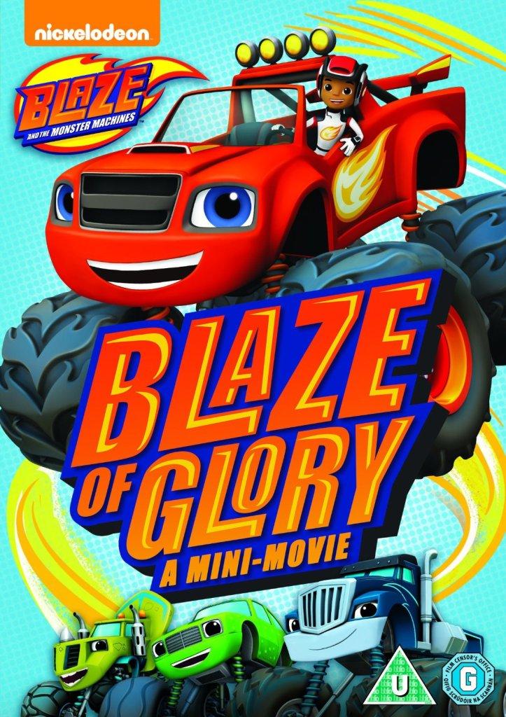 blaze and the monster machines blaze of glory mini movie
