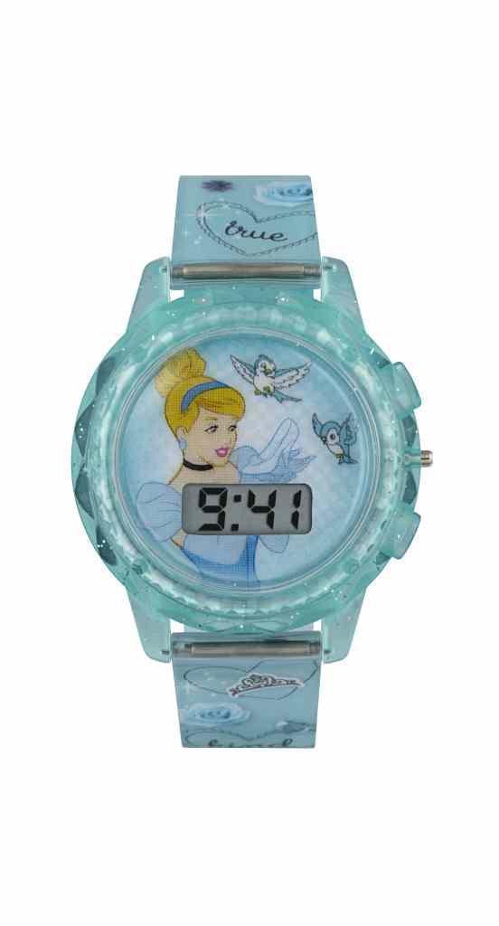 Cinderella_Blue Digital Watch-min