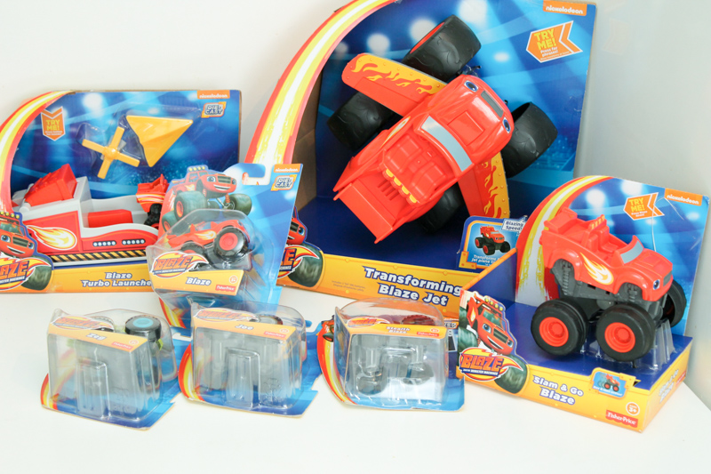blaze and the machine toys