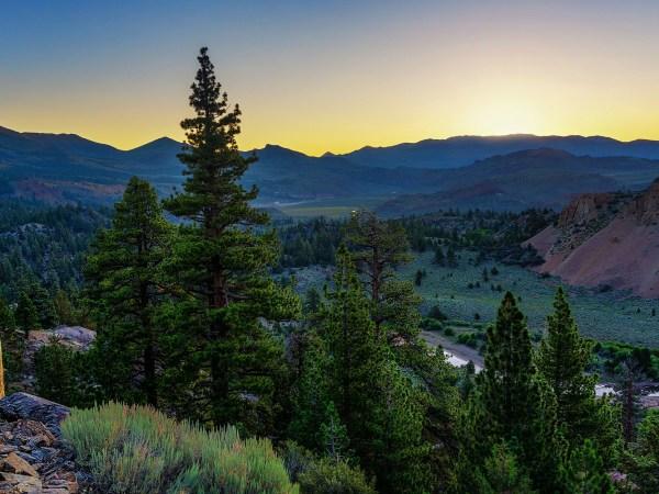 Sunrise Over Leavitt Meadows