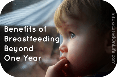5 Benefits of Breastfeeding Beyond a Year