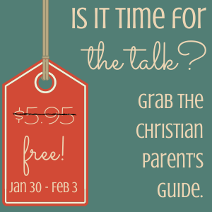 The Talk: 7 Lessons to Introduce Your Child to Biblical Sexuality. Free to subscribers from Jan 30 -