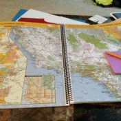 Mapping driving routes for an adventure