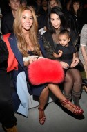 Beyonce, Kim Kardashian, and daughter North