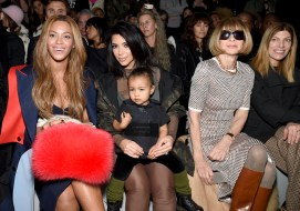 Beyonce, Kim Kardashian with daughter North and Anna Wintour