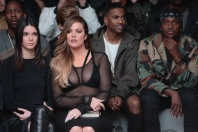 Kendall Jenner, Khloe Kardashian, Big Sean and Pusha T