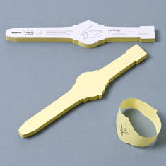 Post-It Note Wrist Watch