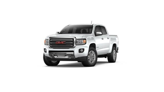 Used Gaz White 2017 GMC Canyon Crew Cab Short Box 2 Wheel Drive SLT     2017 GMC Canyon Vehicle Photo in Columbia  SC 29212