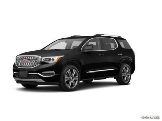 Used Ebony Twilight Metallic 2017 GMC Acadia Denali at Deacon Jones     2017 GMC Acadia Vehicle Photo in Smithfield  NC 27577