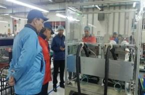 Taking a plant tour of Manaus, Brazil facility