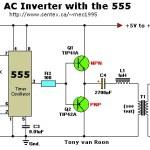 12Vac to 220vac inverter circuit