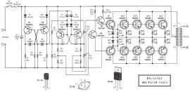 500W power inverter circuit diagram