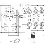 500W power inverter circuit diagram