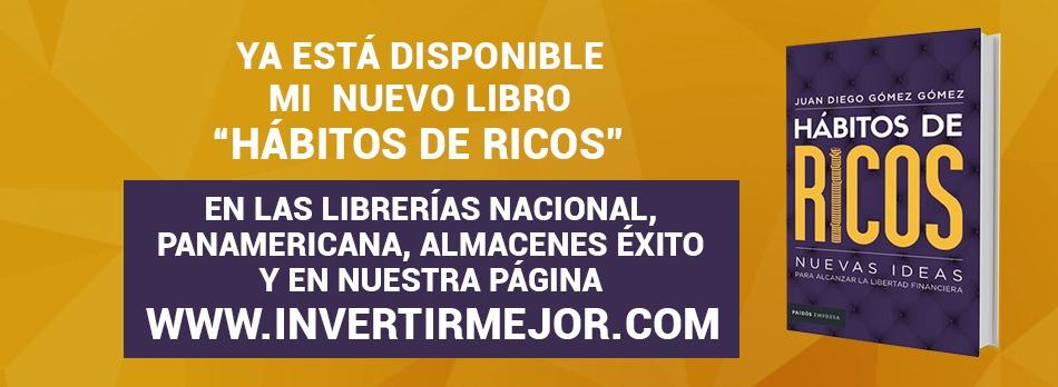 Libro de Juan Diego Gomez: Libro Hábitos de Rico