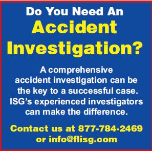 Accident Investigations – Personal Injury Cases