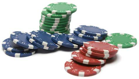 casino chips stapel